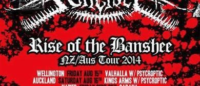 Bulletbelt - Rise Of The Banshee - NZ/Aus Tour