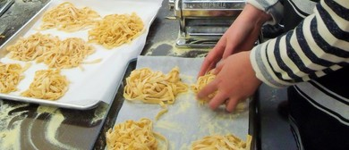 Kids Hands-on Classes - How to Make Tagliatelle