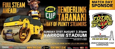 TenderLink Taranaki v Bay of Plenty Steamers