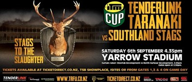 TenderLink Taranaki vs Southland Stags