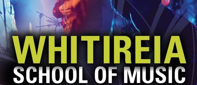 Whitiriea School of Music Presents