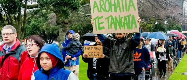 Palmerston North Peace Protest in Solidarity with Palestine