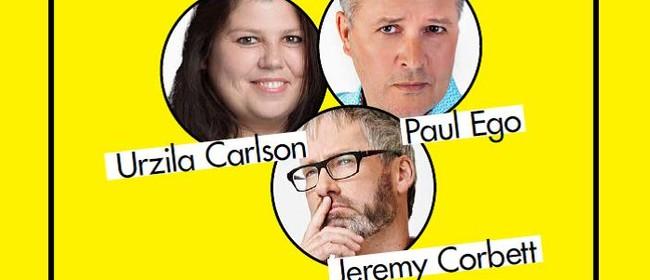 Orakei Comedy Club ft Jeremy Corbett,Urzila Carlson,Paul Ego