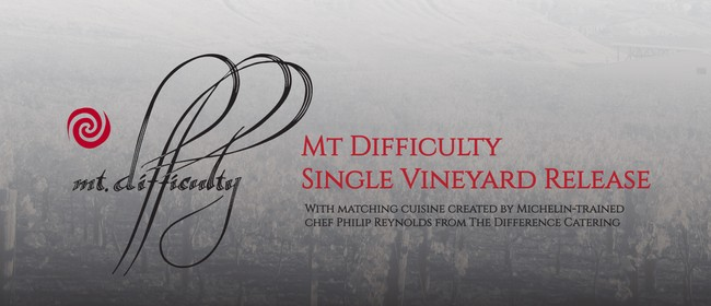 Mt Difficulty Single Vineyard Release Event
