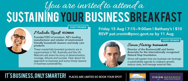Sustaining your Business Breakfast
