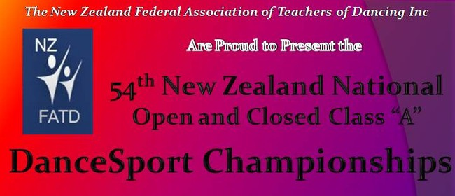 The 54th New Zealand National Open DanceSport Championships