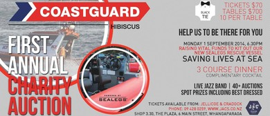 Coastguard Hibiscus Auction & Jazz Event