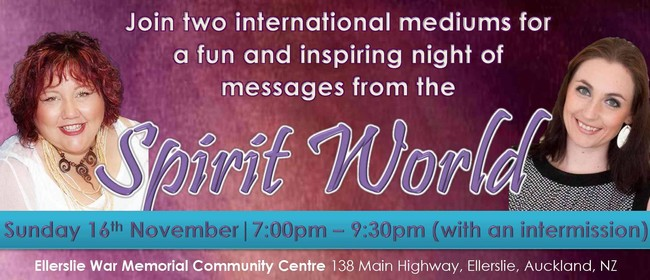 An Inspirational Night of Mediumship