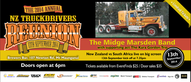 The 2014 NZ TruckDrivers Reunion