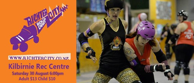 Roller Derby Season Final: Smash Malice vs Brutal Pageant
