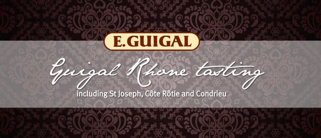 Guigal Rhone Tasting