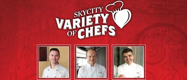 Skycity Variety of Chefs