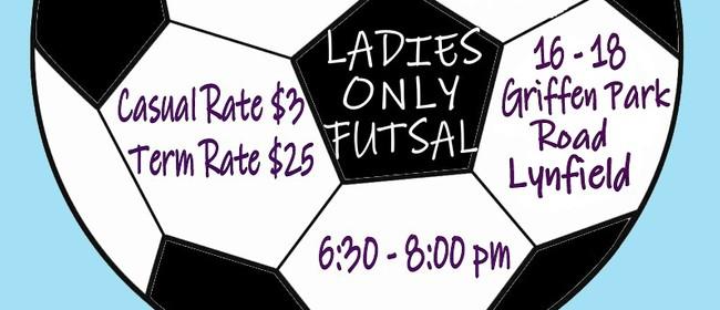 Ladies Only Futsal 2014
