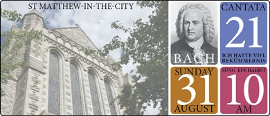 Bach at St Matthew-in-the-City
