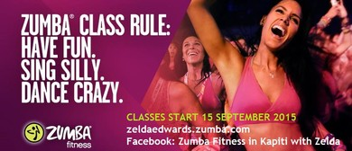 Zumba Fitness with Zelda - Launch Party
