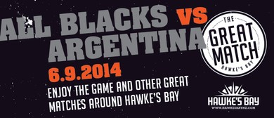 The Great Match - Havelock North Village Black Out