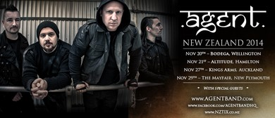 Agent - Collecting Scars Tour