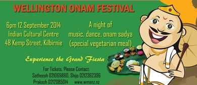 Wellington Onam 2014