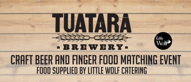Tuatara Beer and Food Matching Event