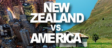 Steve Wrigley in New Zealand vs America