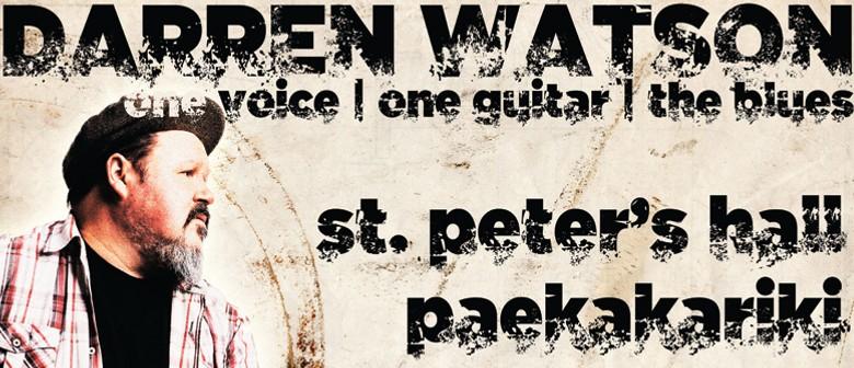 Darren Watson - One Voice, One Guitar, The Blues
