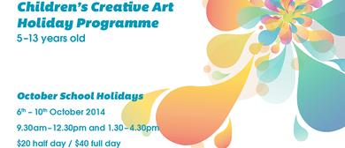 Creative Art Holiday Programme