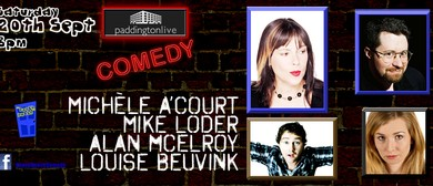 Live Comedy Featuring Michèle A'Court