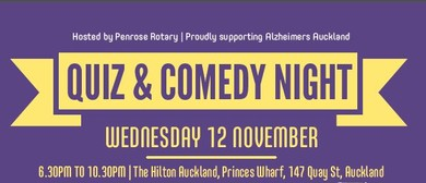 Alzheimers Auckland Quiz & Comedy Night