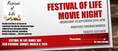 Festival of Life Movie Fundraiser Night