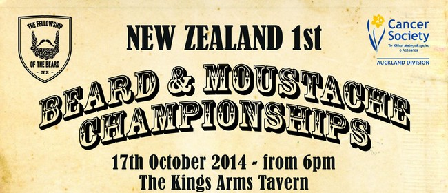 NZ 1st Beard and Moustache Championships
