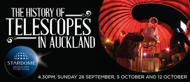 Heritage Festival - The History of Telescopes in Auckland