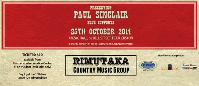Rimutaka Country Music Group Charity Concert