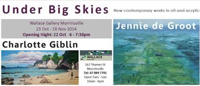 Under Big Skies - Exhibition Opening