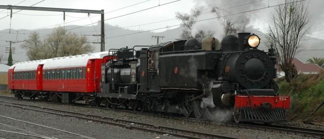 Steam Train Trip to Taihape