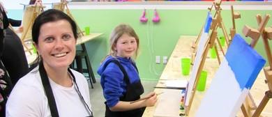 Mini Monet's Social Painting - School Holidays