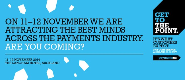 Get to the Point - Payments Conference