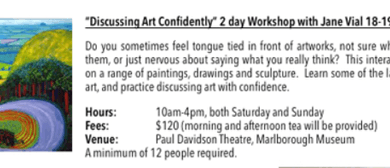 Discussing Art Confidently - with Jane Vial