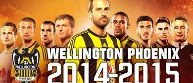 Hyundai A-League Football - Wellington Phoenix v Wanderers
