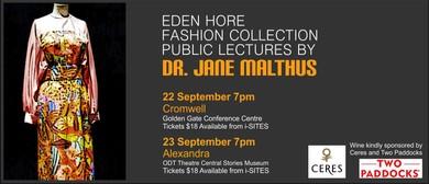 Eden Hore Fashion Collection Public Lectures