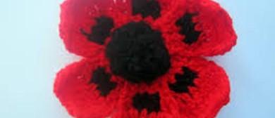 Yarn Bomb Poppy Making