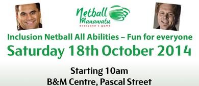 Inclusion Netball Fun Day