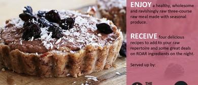 Raw Food Workshop with Gabriel Power from Roar Food