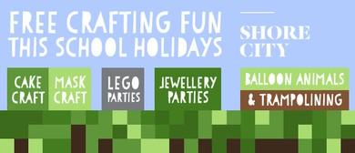 School Holidays Lego, Jewellery & Cupcake Parties