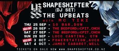 Shapeshifter DJ Set - The Upbeats with MC Tiki