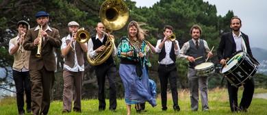 Niko Ne Zna 9 piece Balkan Gypsy Brass Extravaganza