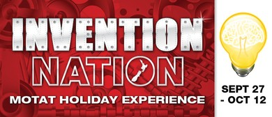MOTAT Invention Nation Holiday Experience
