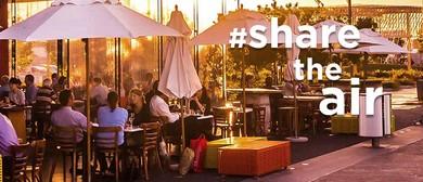 Sharetheair: A Smokefree Pop Up Restaurant