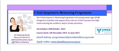 Y-Dub Empowers: Mentoring Programme
