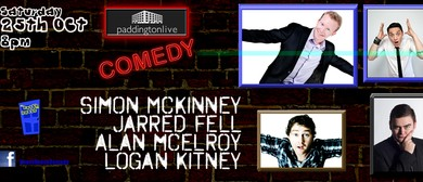 Live Comedy Featuring Simon McKinney