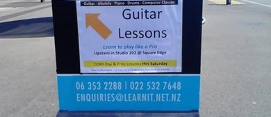 Free Music Lessons & Studio Open Day: CANCELLED